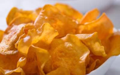 Domowe chipsy z batatów