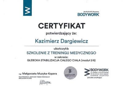 Kazimierz Dargiewicz med 2