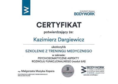 Kazimierz Dargiewicz med 5